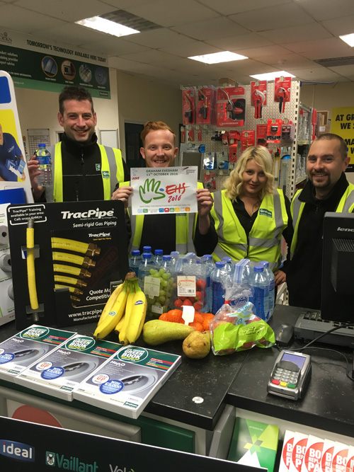 Graham Plumbers' Merchant aims to highlight benefits of a healthy lifestyle