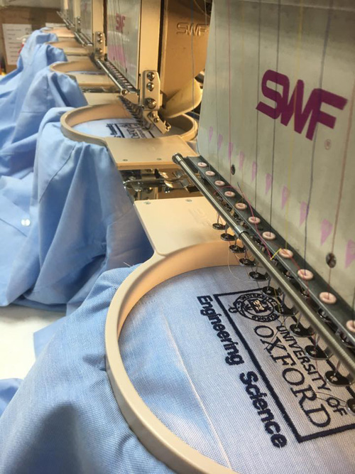 Bespoke embroidery from South East Workwear