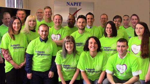 The three peaks team at NAPIT