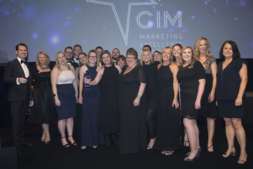 Baxi Heating won Marketing Team of the Year