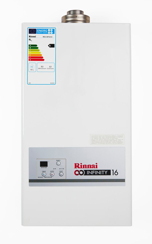 Rinnai's Infinity hot water heating unit