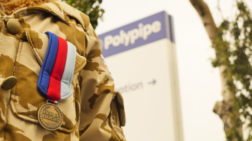 Polypipe teams up with Help for Heroes in three-year partnership