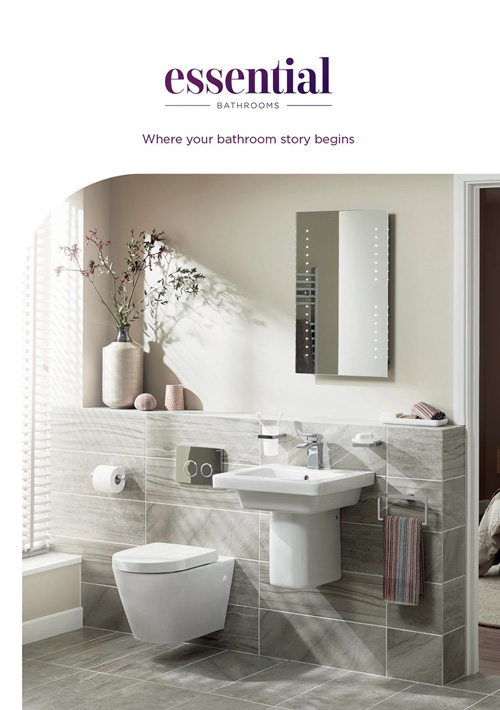Essential Bathrooms gives you more to see with its new brochure
