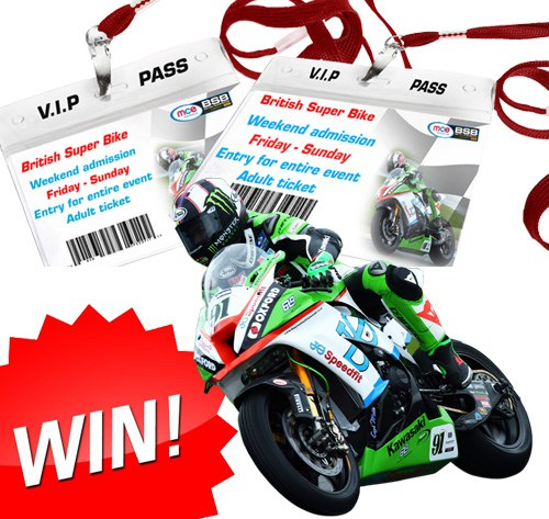 Win a chance to experience VIP hospitality at a UK BSB race of your choice