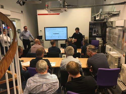 Free air source heat pump product training from Hitachi