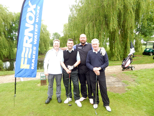 To date the annual Fernox Golf Day has raised more than £75,500 for charities.