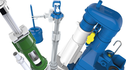 Dudley's range of cistern components offer a raft of benefits