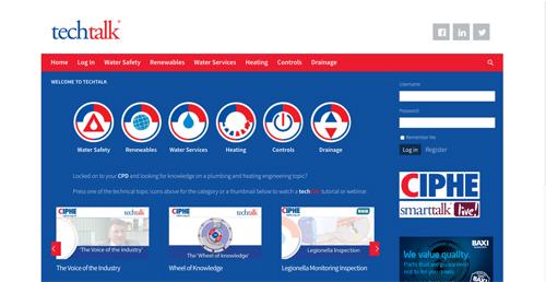 Visit the Techtalk website at www.techtalk-ciphe.org.uk