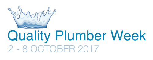 Quality Plumber Week 2017 will run between October 2-8.