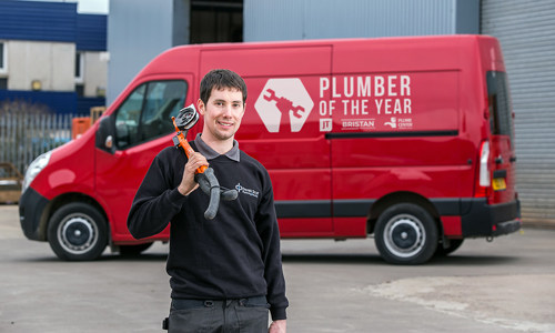 2016 UK Plumber of the Year, Shaun Scott, has launched the 2017 competition