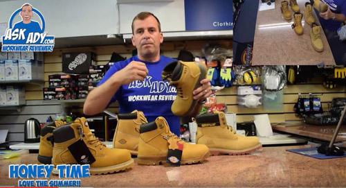 Honey work boots