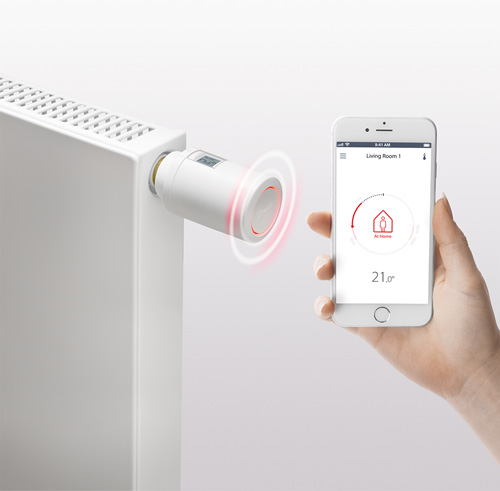 Danfoss Eco provides effortless heating control using the Danfoss Eco App