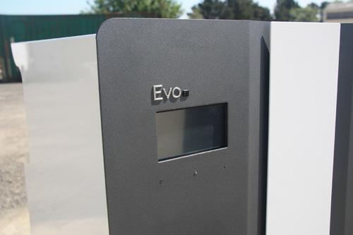 The Evo control panel