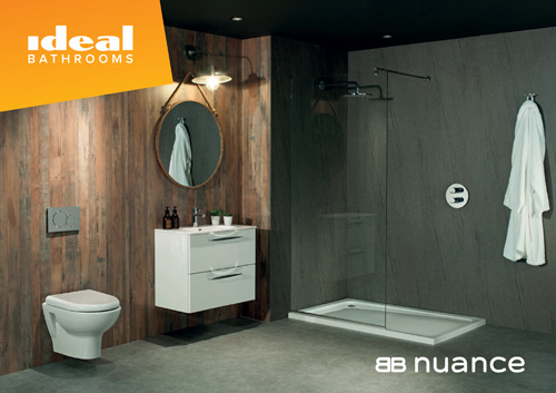 Ideal Bathrooms has a new supplier partner in Bushboard Nuance