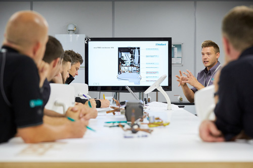 Training is key to the success of Vaillant's Vision2020 strategy