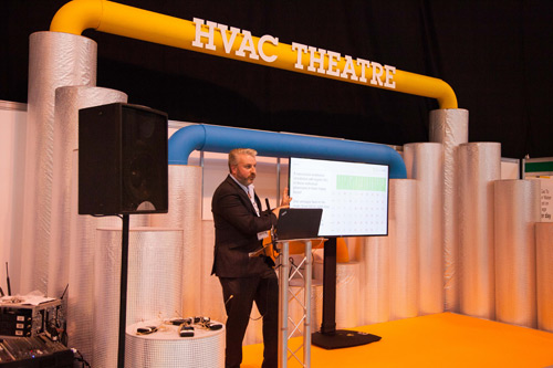 A comprehensive programme of seminars and discussions will take place in the HVAC Hub