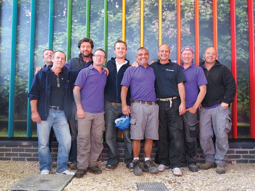 Monodraught's installation team