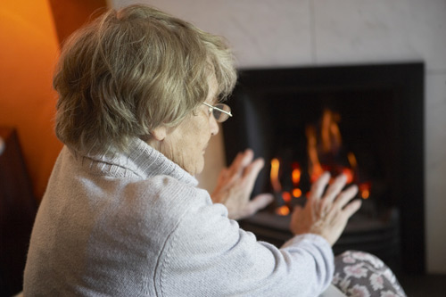 The elderly are among the most vulnerable from fuel poverty