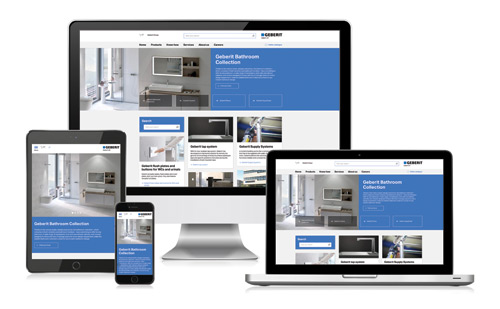 Browse the new-look website at: www.geberit.co.uk
