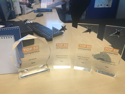 Baxi Genuine Parts takes home four customer service accolades