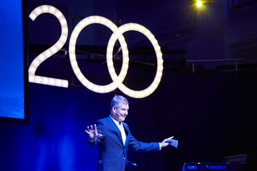 Patrick Kielty was the host of the bicentenary event
