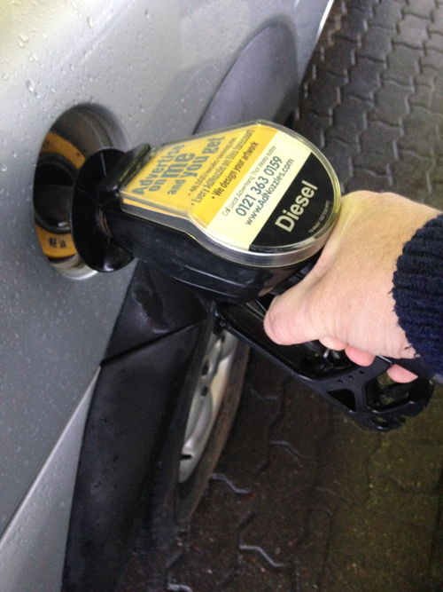 Filling up your tank courtesy of Stelrad