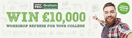 Colleges have until February 28, 2018, to have a chance of winning the £10,000 prize