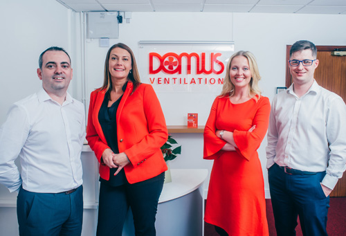 Domus management team