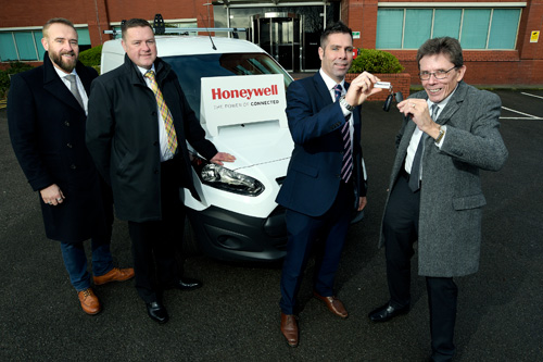 A brand-new Ford Connect van worth £15,000 was won