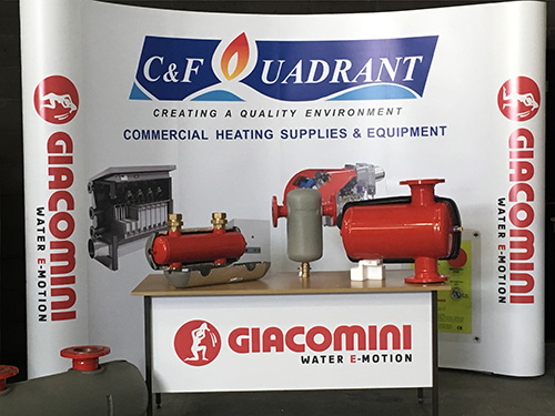 The partnership will see Giacomini's flow control products more readily available
