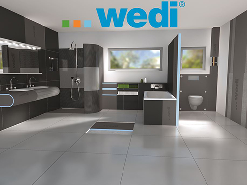 A look at all the possibilities for your wet room with wedi