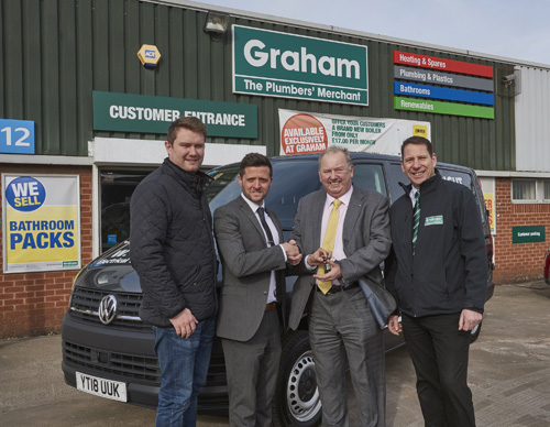 The winning pack was bought at Graham's Goole branch