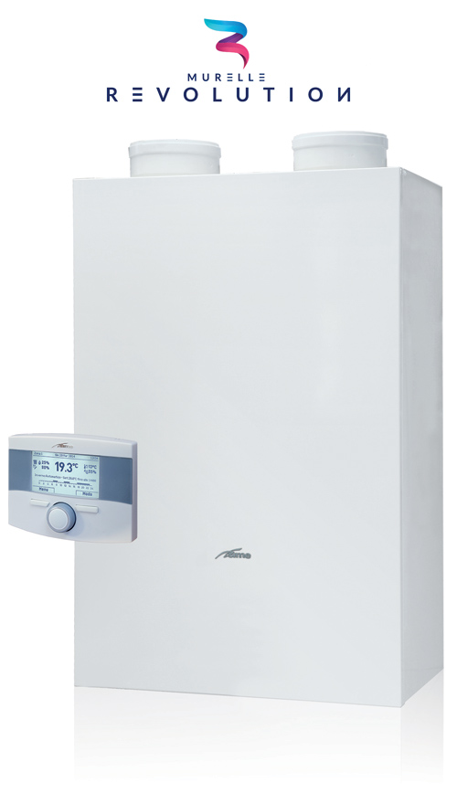 Sime say the Murelle Revolution 30 is the first completely integrated boiler