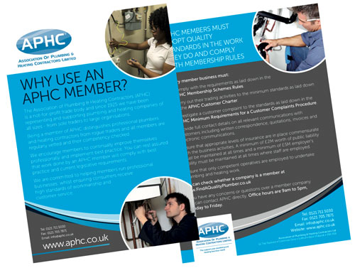 APHC members can order a free allocation of leaflets every year