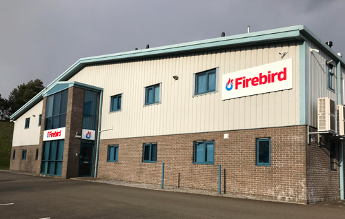 The Firebird HQ in Plymouth, which houses the company's Technical hub, training centre, showroom and innovation centre.