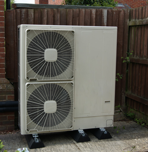 Heat pumps are a perfect heating solution for domestic newbuild properties