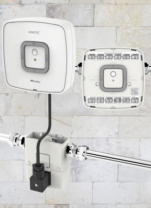 Thomas Dudley's innovative intelligent (IRC) urinal flushing control