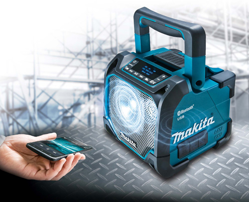Makita's DMR202 Job Site Speaker