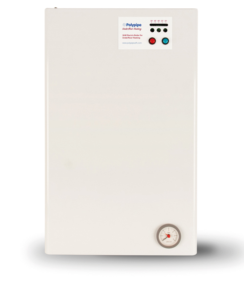 The Single Zone Electric Boiler holds British Standards Kitemark (KM 59690) and conforms to all relevant BSI and European directives.