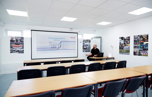 The training will be held at Runcorn's HQ in Cheshire