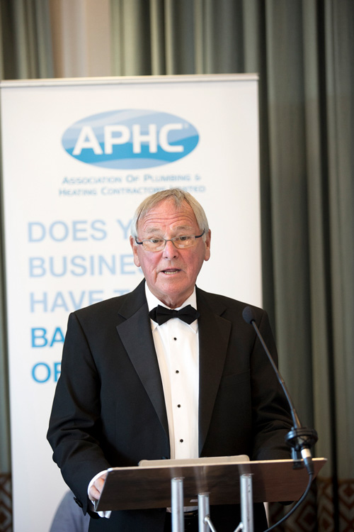 Graham Made His Sch At Aphc S President Dinner Which Was Held Rookery Hall Hotel In