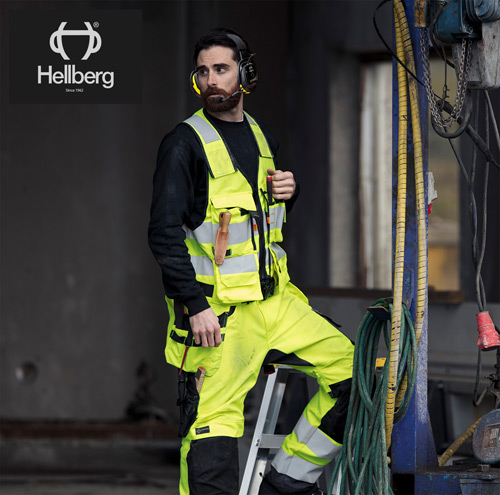Hellberg safety products are the perfect fit for the Hultafors Group.