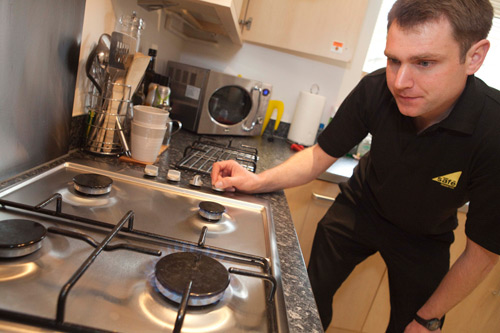 Gas appliances should be checked all year round, not just during the winter.