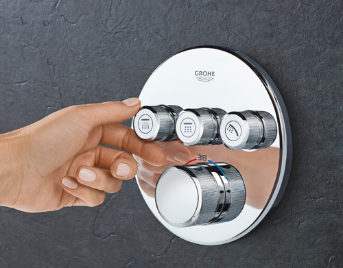 The GROHE SmartControl