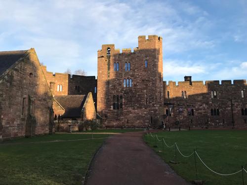 Peckerton Castle