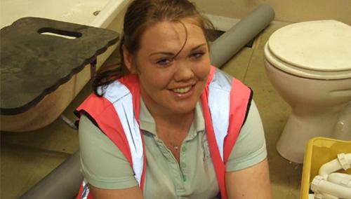 Lauren Winter, winner of Apprentice of the Month