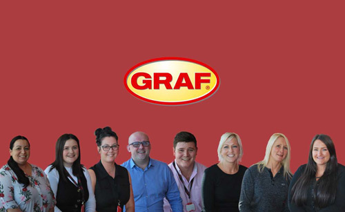 Graf's now 41-strong team has grown by nearly a third