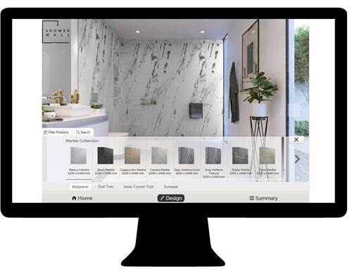 Showerwall's Visualiser tool