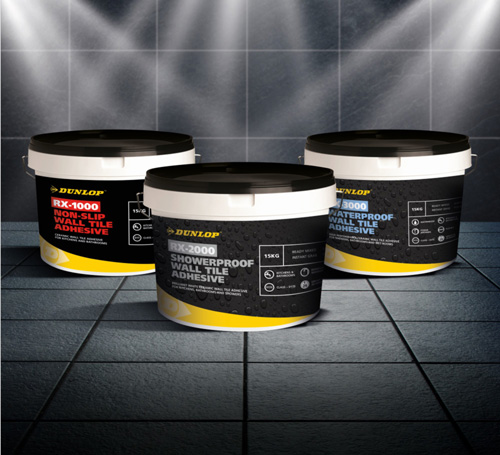Dunlop's new range of ready-mixed adhesives