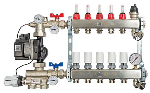 New underfloor heating components from Myson Floortec